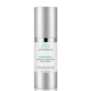 Dewy Skincare Peptides + Amino Acids Youthful Serum 30ml