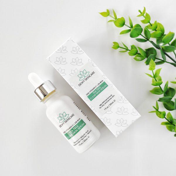 Dewy Skincare Vitamin C + BHA Clear Skin Serum