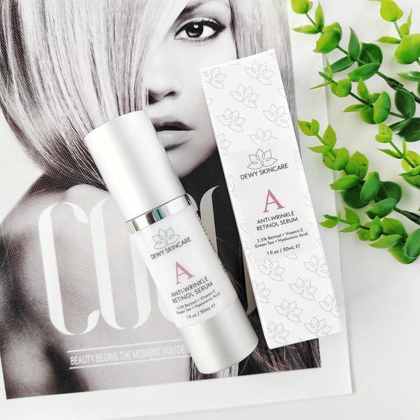 Dewy Skincare Retinol 2.5% Anti-Wrinkle Serum 30ml